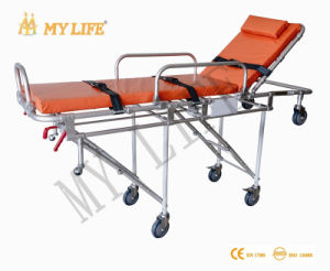 Aluminum Alloy Automatic Loading Stretcher Ambulance Strether (TD01013-D)