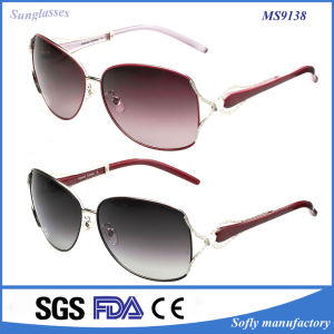 New Features Pearl Bead Sunglasses Retro Vintage Women Sunglasses pictures & photos