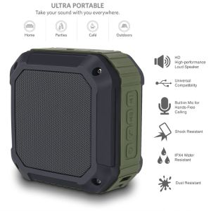 Mini Music Player Portable Radio Waterproof Speaker pictures & photos