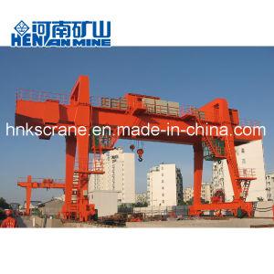 75 Ton Rail Mounted Metro Construction Double Girder Gantry Crane pictures & photos