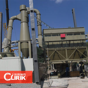 Ground Granulated Blast Furnace Slag Powder Mill Machine pictures & photos