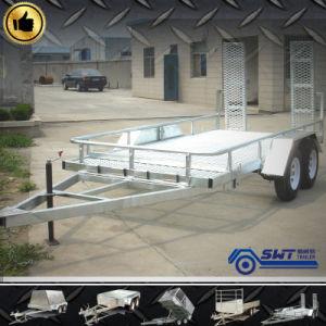 Heavy Transport Tandem Axles Car Transport Full Truck Trailer pictures & photos