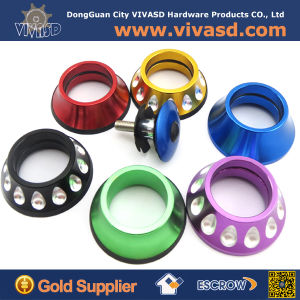 Bike Parts CNC Machining Parts with Colorful Anodize pictures & photos