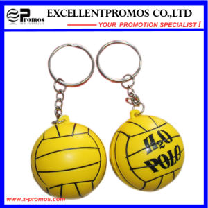 Logo Customized Advertising PU Stress Ball Keychain (EP-K573010) pictures & photos