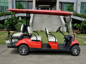 China Lvtong Battery Power Golf Car for 6 Seaters pictures & photos