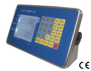 CE Approval Stainless Steel Indicator with Price Computing Function (XK3119WP-KS)