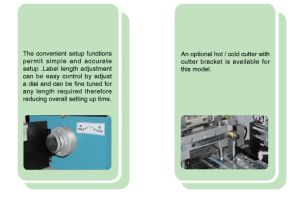 Ultrasonic Label Cutting Machine (HY-986) pictures & photos