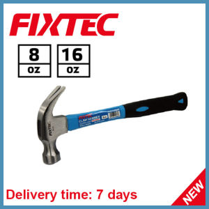 Fixtec American Type Fiber Handle 8oz Claw Hammer pictures & photos