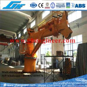 CCS ABS Telescopic Boom Hydraulic Marine Crane pictures & photos