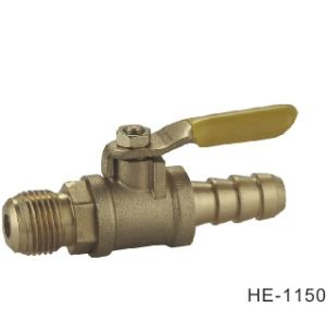 (HE1150--HE1153) Brass Ball Valve Pn16 with Wing Handle for Water, Oil