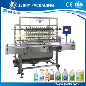 Automatic Food Wine Alcohol Juice Water Bottling Bottle Filler pictures & photos
