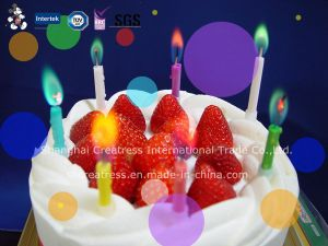 Popular Color Flame Birthday Candle for Kids pictures & photos