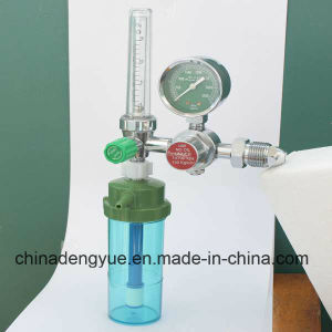 Approved Ce Hospital Medical Bull Nose Oxygen Regulator pictures & photos