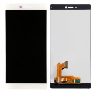White Touch Digitizer LCD Display Glass Assembly for Huawei P8 pictures & photos