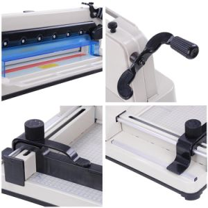Professional Manufacturer Paper Cutting Machine A3 Paper Cutter (WD-858A3) pictures & photos
