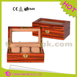 Personalized Silk-Screened Logo Cheap Watch Box with Pillow