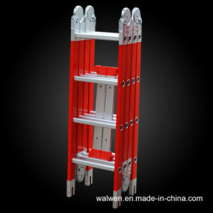 China Producer Multi-Purpose Joint Ladder FRP Folding Ladder pictures & photos