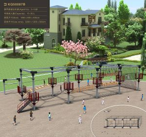 Kaiqi Children Gym Fitness Equipment in Playground pictures & photos