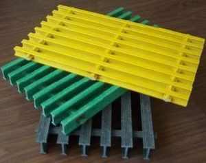 Fiberglass Pultruded Gratings, FRP/GRP Smooth Surface Pultrusion pictures & photos