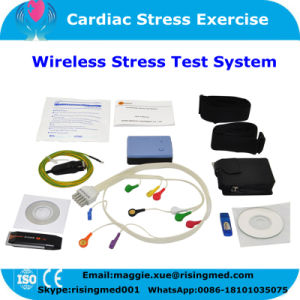 12-Lead ECG Data Holter Stress Test System Analysis Software Wireless for Cardiac Stress Exercise-Maggie pictures & photos
