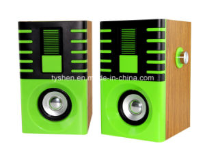 USB Speaker of Wooden Case pictures & photos