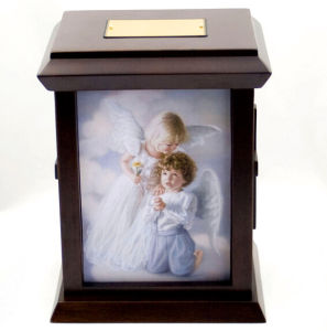 Heavenly Prayer Wooden Human Urn pictures & photos