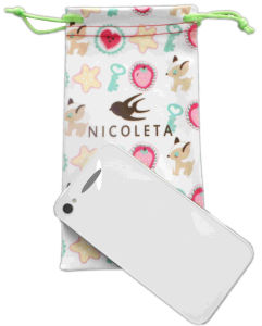 Customer Printing Microfiber Cell Phone Pouch, Glasses Bag pictures & photos