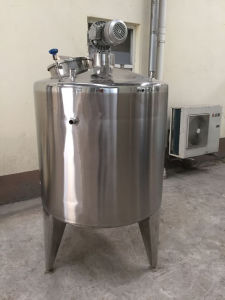 5000 Litre Stainless Steel Mixing Tank with Mixer and Scraper pictures & photos