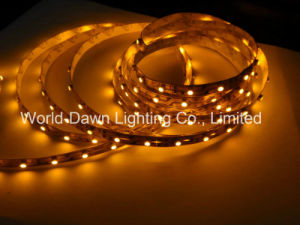 Ce EMC LVD RoHS Two Years Warranty, Yellow LED Flexible Strip Light pictures & photos