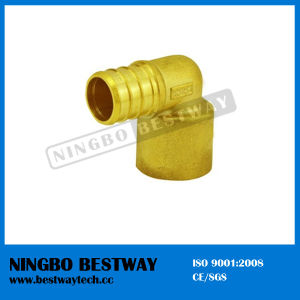 Lead Free Brass Fitting Hose Barbed Elbow for Pex Pipe pictures & photos