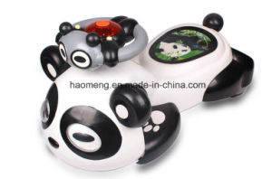 Plastic Assembling Kids Swing Cars with Panda Modeling pictures & photos