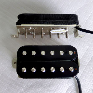 Hot Nickel Silver Baseplate High Ouput AlNiCo Humbucker Guitar Pickup pictures & photos