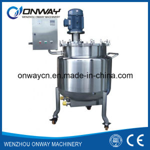 Pl Stainless Steel Jacket Emulsification Mixing Tank Oil Blending Machine Mixer Sugar Solution Paint Color Screed Mixer pictures & photos