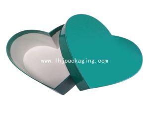 Custom Heart Shape Gift Paper Box