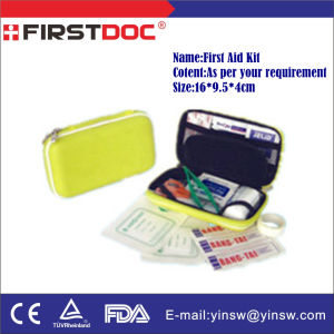 Medical Supply Portable First Aid Kit, First Aid Box pictures & photos