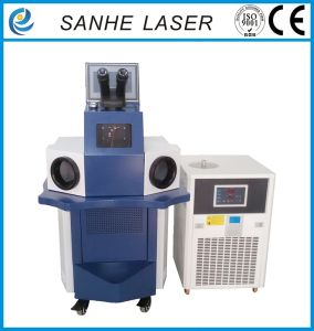 Automatic Metal Alloy Jewelry Laser Spot Welding/Welder Machine pictures & photos
