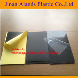0.3mm-2mm Thick Black White Self Adhesive PVC Sheet pictures & photos