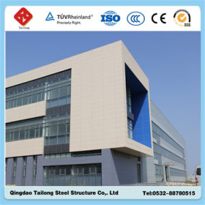 Long-Span High Rise Prefabricated Steel Structure Building pictures & photos