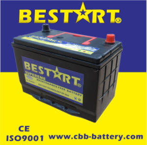 JIS Standard Rechargeable 95D31r 12V Nx120-7 Japan SMF Automobile Battery 12V80ah pictures & photos
