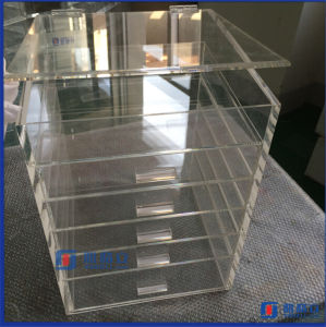 Large Vanity Impressions Acrylic Make up Storage Box pictures & photos