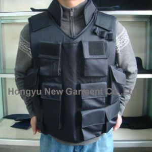 Nij Iiia Police Assault Ballistic Vests Black Color (HY-BA004) pictures & photos