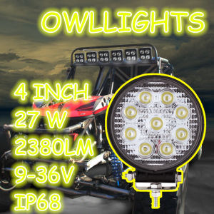 OEM/ ODM Professional Manufacturer Producing Save Energy LED Lights 4inch LED Headlamp 27W LED Spotlight