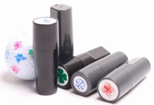 Plastic Personalized Golf Ball Stamps pictures & photos