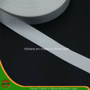 Woven Edge Polyester Satin Care Label Ribbon (HALM160001) pictures & photos