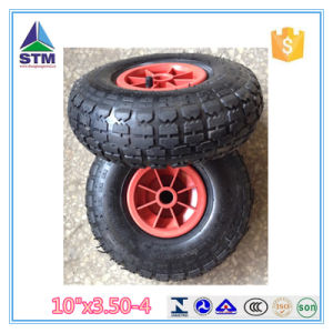Wholesale China Pneumatic Trolley Rubber Wheel pictures & photos