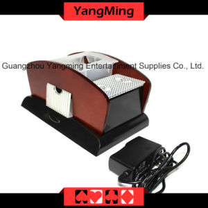 2 Deck Wood Card Shuffler (For 1 - 2 decks playing cards) (YM-CS06) pictures & photos