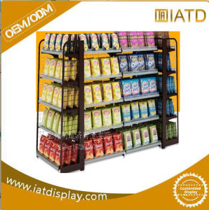 Large Metal Floor Standing Drink Display Rack for Supermarket pictures & photos