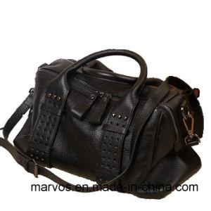 2016 Spring Fashion Woman Tote Handbag 100% Leather Bag (M1208))