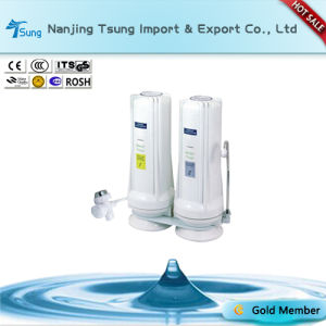 Counter Top Two Stage Water Purifier for Home Use pictures & photos