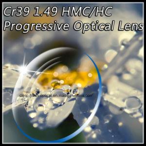 Cr39 1.49 Hmc/Hc Progressive Optical Lens